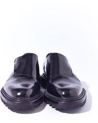 Yang Li Mens Antick Calf Cut Away Single Strap Monk Shoes - Lyst