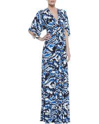 Rachel Pally Digitalprint Long Caftan Dress - Lyst
