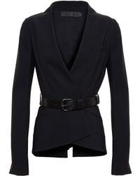 Haider Ackermann Fleece Wool Jacket - Lyst