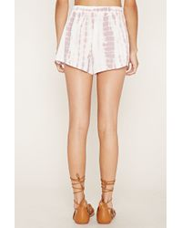 Forever 21 Tie-dye Shorts - Multicolor