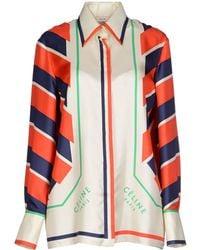 Celine Multicolor Shirt - Lyst