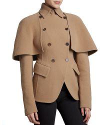Donna Karan New York Double-breasted Cutaway Jacket - Lyst