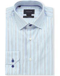 Duchamp Striped Cotton Shirt - For Men - Lyst
