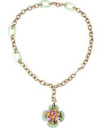 Roberto Cavalli Necklace multicolor - Lyst