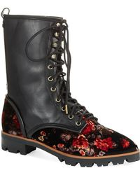 Luxury Rebel - Gretchen Laced Boots - Lyst