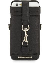 Rebecca Minkoff | Leather Dog Clip Crossbody Iphone 6/6s Sleeve | Lyst