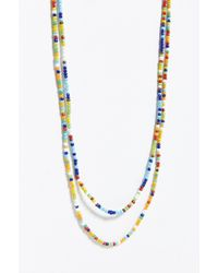 Urban Outfitters - Multi-beaded Necklace Set - Lyst