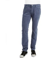 Michael Kors Straight Leg Corduroy Jeans - Lyst