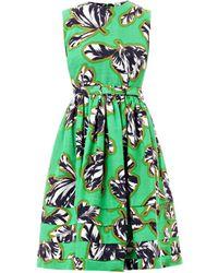 Jonathan Saunders - Laurel Tulip Print Dress - Lyst