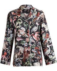 Valentino Animal Print Pyjamas - Multicolour