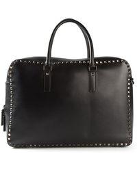 Valentino 'Rockstud' Laptop Bag - Black