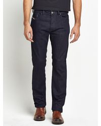 Diesel Mens Larkee 607a Relaxed Jeans - Lyst