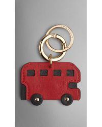 Burberry London London Bus Key Charm - Lyst