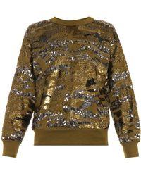 Isabel Marant Hamilton Sequin-embellished Sweatshirt - Lyst