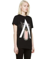 Marcelo Burlon Black Gaona T_Shirt - Lyst