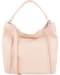 Cole Haan Nickson Double Strap Hobo pink - Lyst