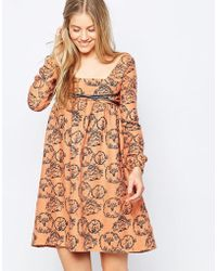 Family Affairs - Etta Dress - Orange - Lyst