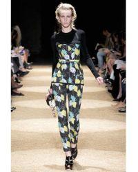 Proenza Schouler Printed Trousers - Lyst