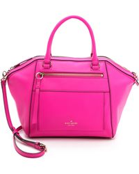 Kate Spade York Avenue Small City Duffel Black - Pink