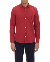 Etro Pinwale Corduroy Shirt - Lyst