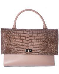 "Givenchy Beige Crocodile Print Medium ""Shark"" Bag beige - Lyst"