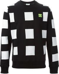 Kenzo Black Squares Sweatshirt - Lyst