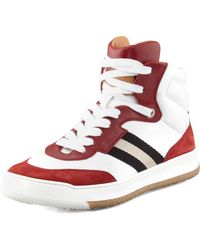 Bally Atlanta Colorblock Hi-top Sneaker - Lyst