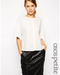 Asos T-Shirt with Seam Detail - Lyst
