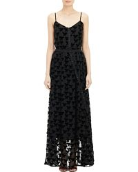 Boy by Band of Outsiders - Velvet Burnout Gown - Lyst