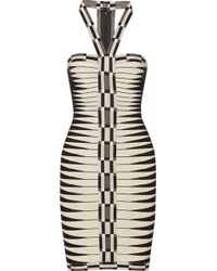 Hervé Léger Valentina Bandage Dress - Lyst