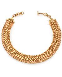 House of Lavande | Batari Triple-chain Collar Necklace | Lyst