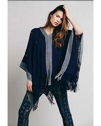 Tejido - Alpaca Short Pullover Poncho - Lyst