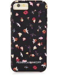 Rebecca Minkoff Floral-Print Iphone 6 Case - Lyst