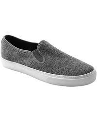 Gap Wool Slip-on Sneakers - Lyst