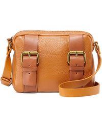Kelsi Dagger Grasslands Buckled Leather Crossbody Bag - Lyst