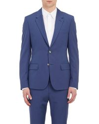 Alexander McQueen Blue Two-button Sportcoat - Lyst