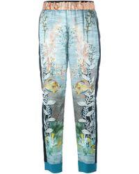 Forte Forte | Ocean Print Trousers | Lyst