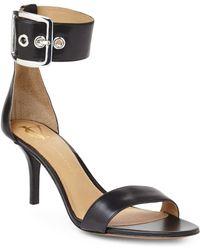 Vince Camuto Signature - Black Vinetta Ankle Cuff Sandals - Lyst