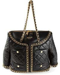 Moschino Quilted Jacket Tote - Lyst