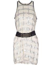 Sass & Bide Short Dress white - Lyst