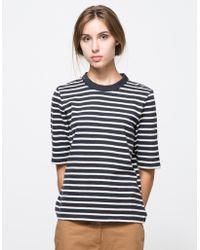 WOOD WOOD Adda T-Shirt blue - Lyst