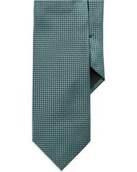 Hugo Boss Green Textured Tie - Lyst