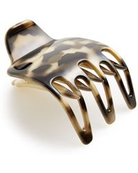 Belle by France Luxe - 'three-prong Scoop Pinch' Hair Clip - Lyst