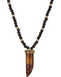 Sonya Renee Jewelry - Horn Pendant Necklace - Lyst