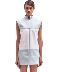 Paco Rabanne Womens Colour Block Sleeveless Dress - Lyst