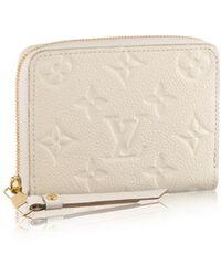Louis Vuitton Zippy Coin Purse - Lyst
