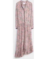 Zadig & Voltaire Romeo Print Fleurs Dress - Lyst