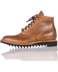 Viberg | Service Boot In Natural Cxl / Ripple Sole | Lyst