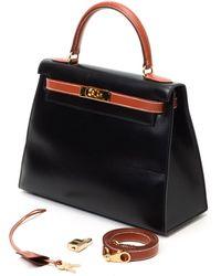 Hermès HermãˆS Two-Tone Handbag black - Lyst