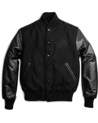 Shinola | + Golden Bear Detroit Lions Varsity Jacket | Lyst